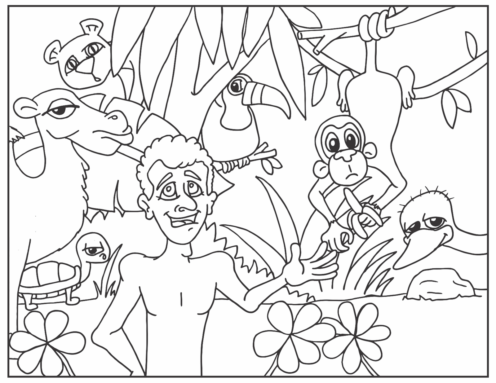 Matt's Sketch Pad: Coloring Pages for New Curriculum