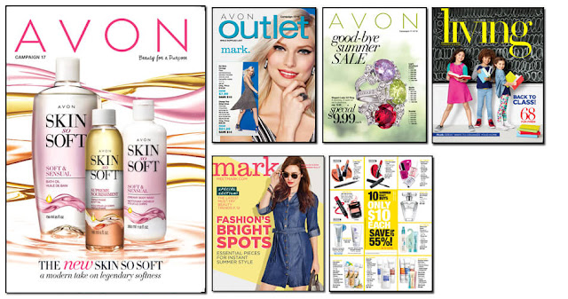 Avon Campaign 17 2016 Avon Outlets, Avon mark. magalog, Avon Living, Avon Flyer. The Online date on this Avon Catalog 7/23/16 - 8/5/16
