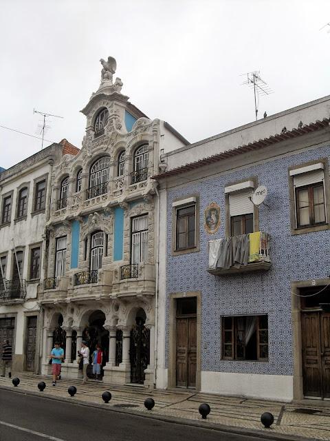 azulejos en Portugal Aveiro