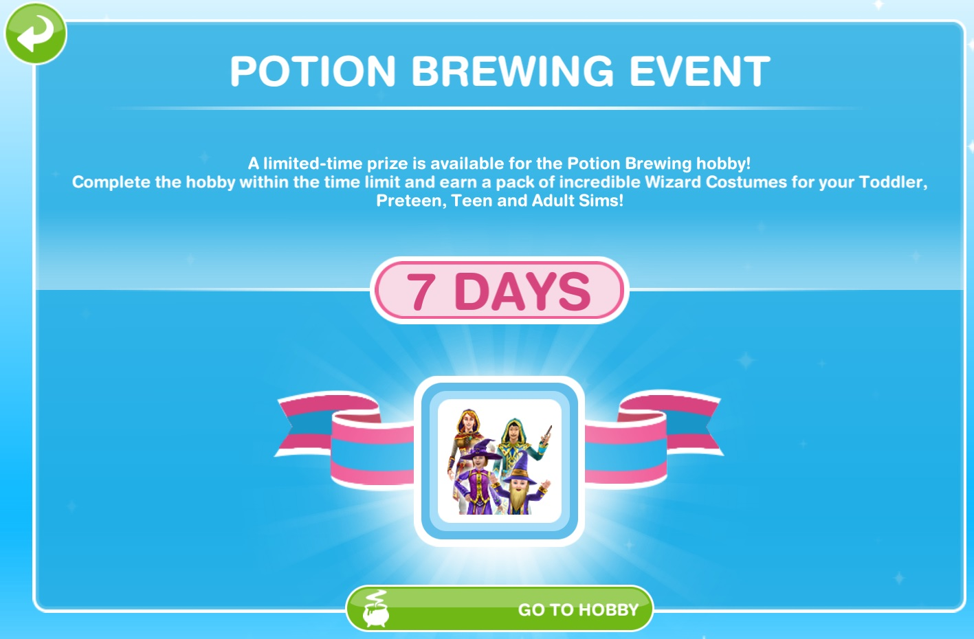 Sims Freeplay Quests And Tips Potion Brewing Hobby Event