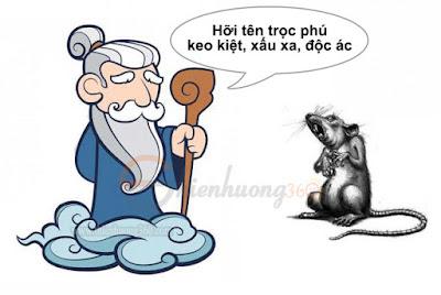 Sự tích con Chuột: Bụt hiển linh trừng phạt tên trọc phú keo kiệt, xấu xa, độc ác