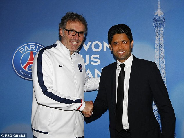 PSG coach Laurent Blanc signs new two year contract