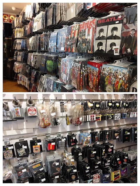 Магазин для фанатов Битлз