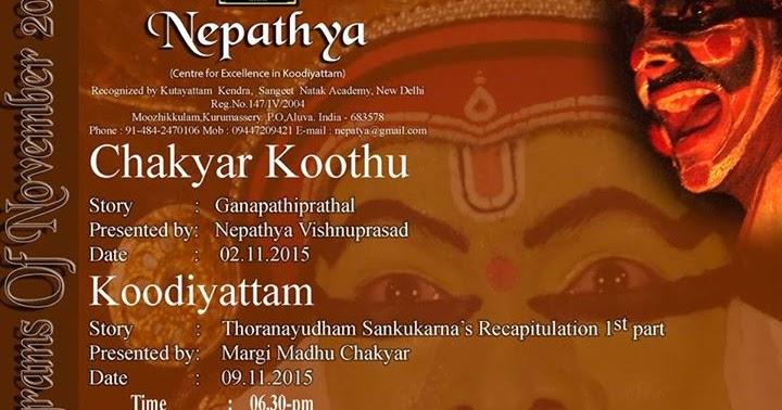 November Programmes At Nepathya Spaceout