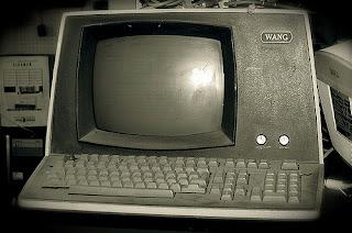old Wang computer