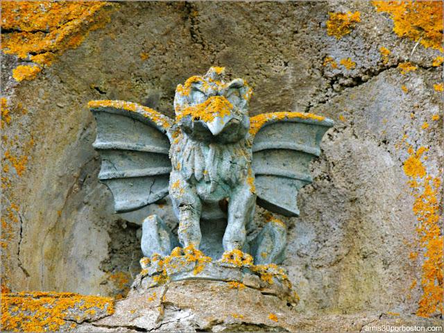 Grifo en el Castillo Hammond, Gloucester