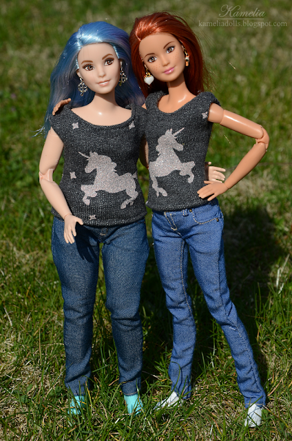 Handmade clothes for Barbie dolls