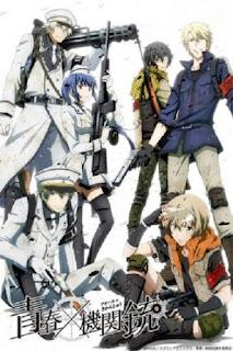 detail dan nonton trailer anime Aoharu x Kikanjuu (2015)