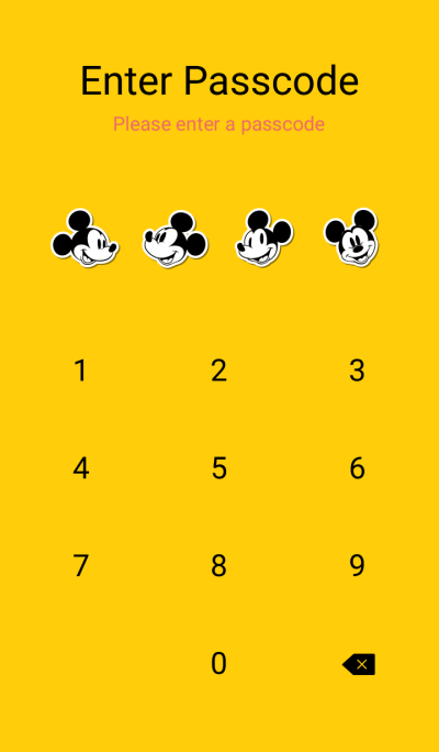 Mickey Mouse (Face)