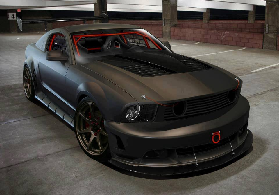 Car Amp Bike Fanatics Modified Monster Ford Mustang