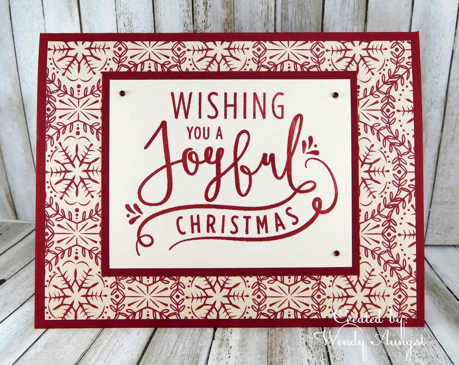 WeeBeeStampin4Fun: Have a Joyful Christmas