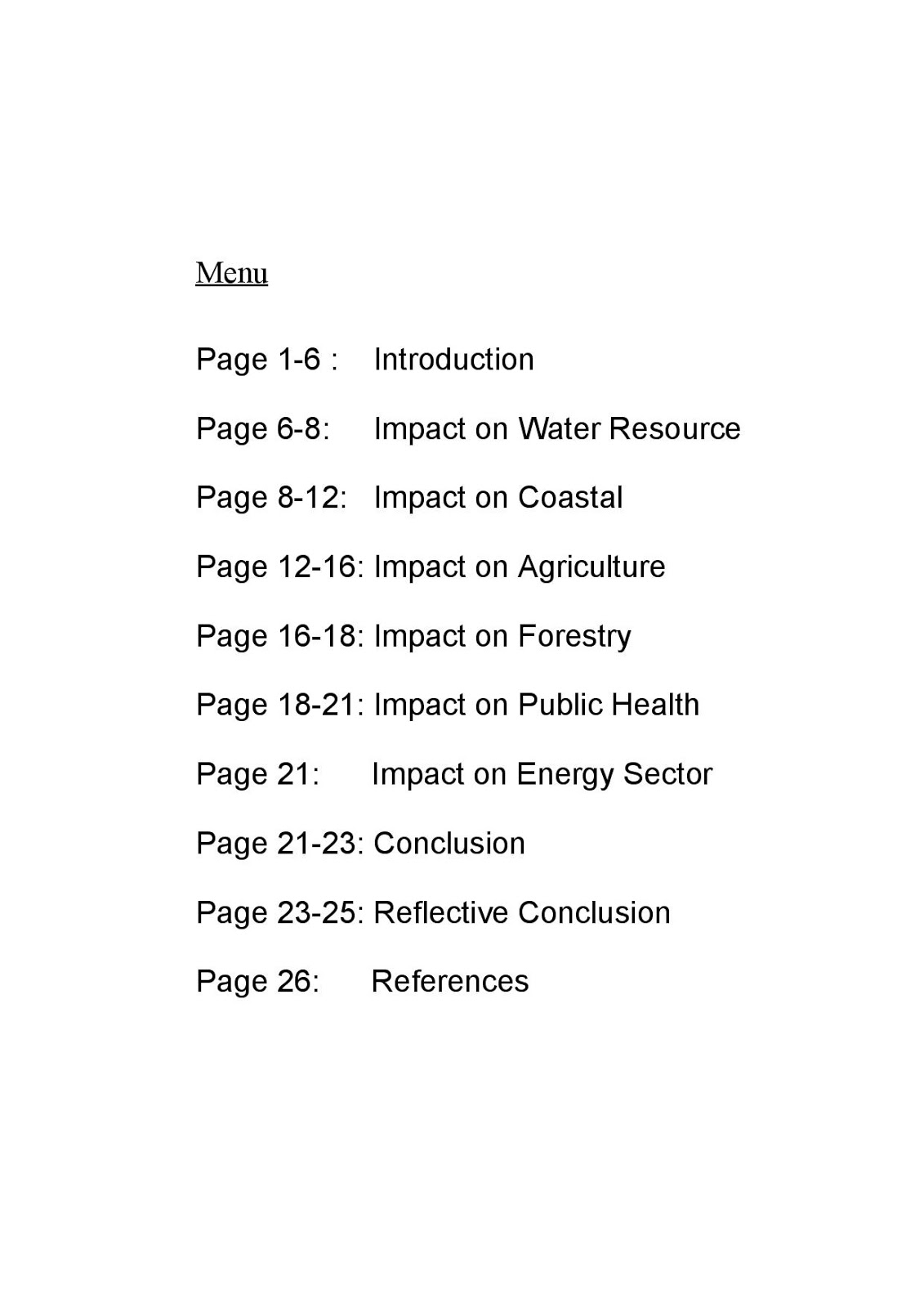 Environmental issues essay