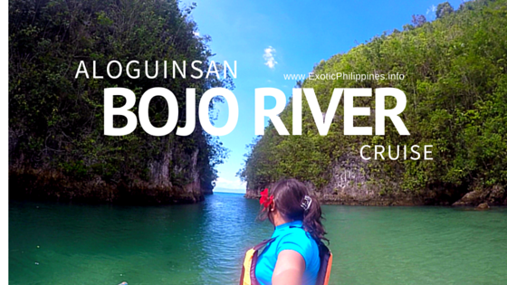 Cruising at Bojo River of Aloguinsan Cebu