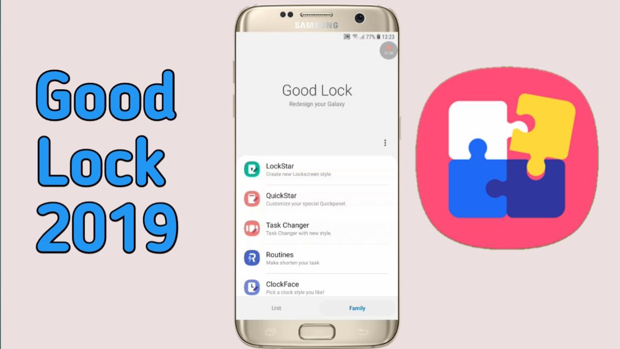 Samsung Good Lock 2019 - HK-Tech