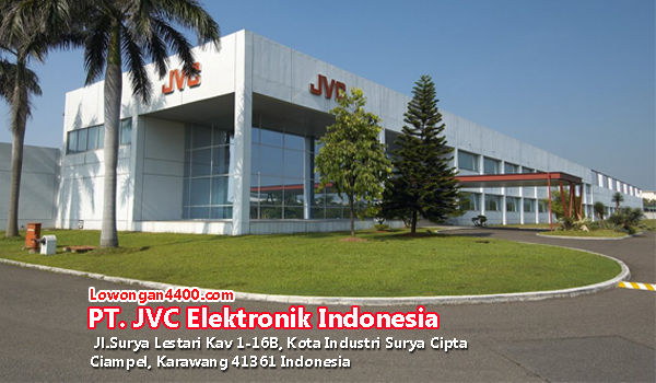 Lowongan Kerja PT. JVC Electronics Indonesia Karawang Oktober 2017