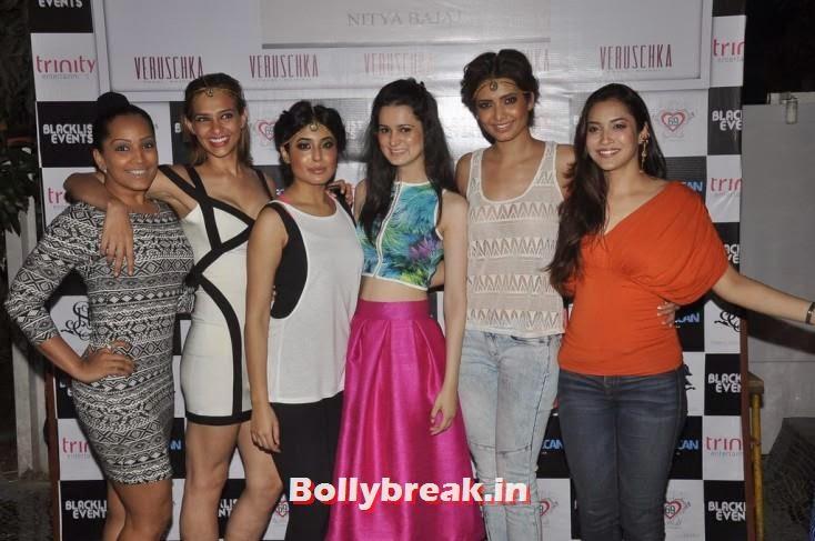 Kritika Kamra, Nitya Bajaj, Karishma Tanna, Rashmi Nigam, Gauahar Khan, Kushal Tandon, Sonal Chauhan & Karishma Tanna Snapped at Nitya Bajaj Fashion Show