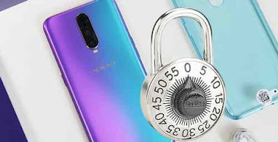 lock oppo app with fingerprint