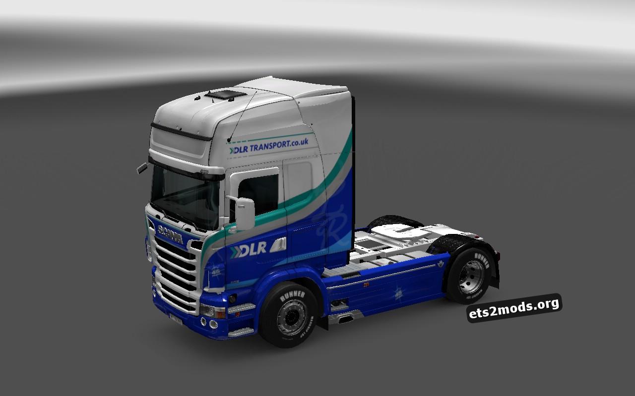DLR Transport Skin for Scania RJL