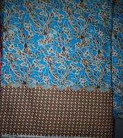 Kain Batik Prima 4638 Biru