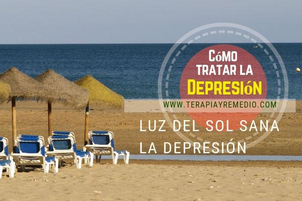 La luz del sol es la forma de tratar la depresión, un remedio natural al alcance de todos.