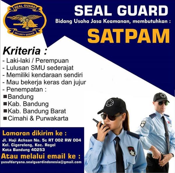 Lowongan Kerja Satpam Seal Guard