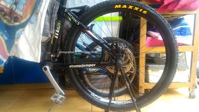 Ban sepeda Maxxis baru setelah digeser merknya.