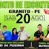 PONTO DE ENCONTRO EM GRANITO - PE / 20 DE AGOSTO DE 2016