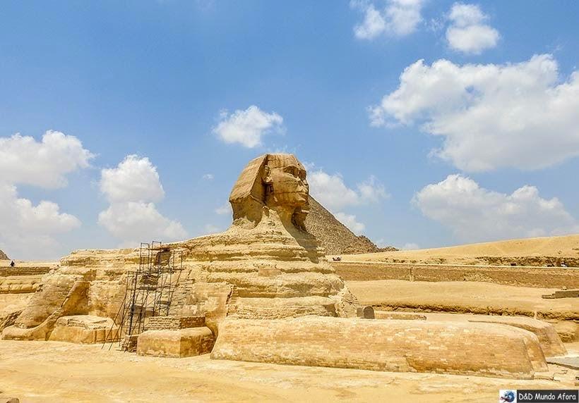 Esfinge de Gizé - Diário de Bordo: 2 dias no Cairo