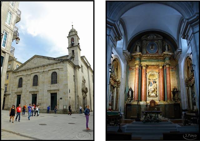 La Iglesia de Santiago a Nova, Lugo