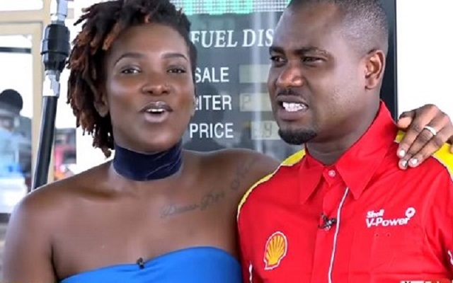 Late Ebony Reigns (Left) and Gilbert Abeiku Aggrey Santana aka Abeiku Santana (Right)