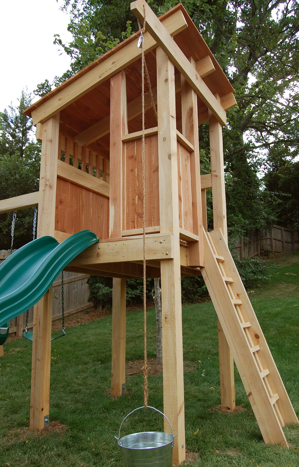 Natural State Treehouses Inc.: Gribble Family Clubhouse