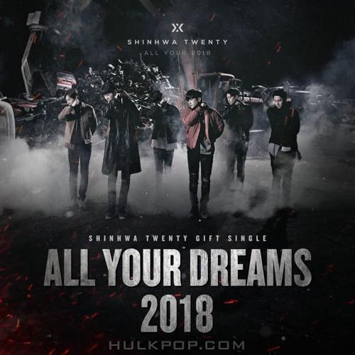 SHINHWA – SHINHWA TWENTY GIFT SINGLE `All Your Dreams` – Single