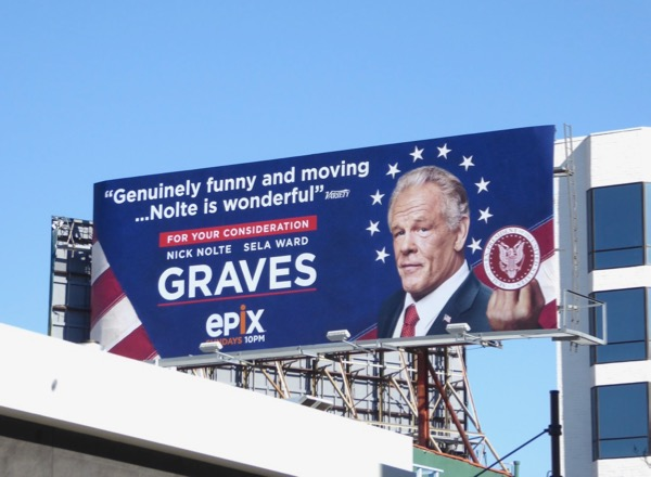 Graves season 1 FYC billboard