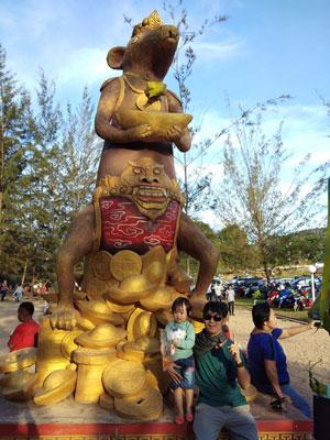 wisata pantai pulau bangka tikus emas