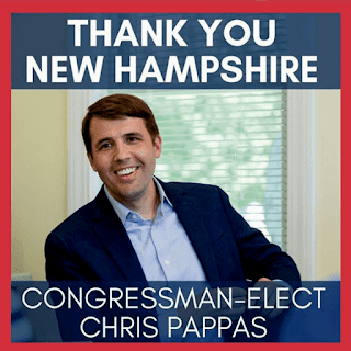 New Hampshire's new Congressman-Elect Chris Pappas