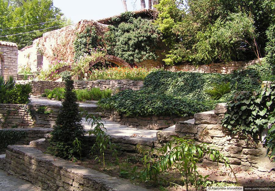 Каменные террасы