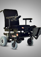Ostrich Mobility Tetra T15 Electric Wheelchair
