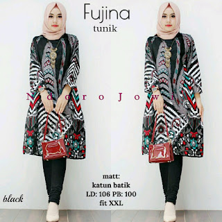 Batik Tunik Batik Wanita Fujina
