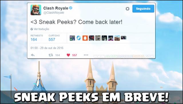 Sneak Peeks da próxima atualização começam em breve... - 1