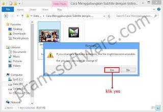 Warning di Windows 8