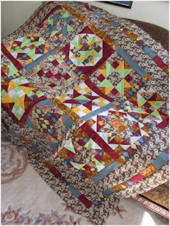 quilt pattern by The Quilt Ladies.