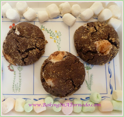 S'mores Cookies | www.BakingInATornado.com | #recipe #cookies