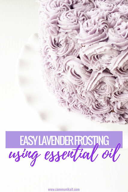 essential oil frosting