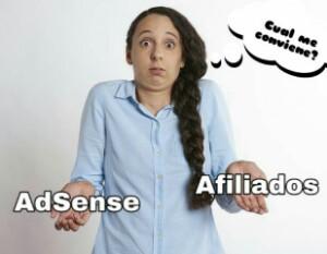 AdSense vs Afiliados: Cuál es la mejor publicidad para mi blog