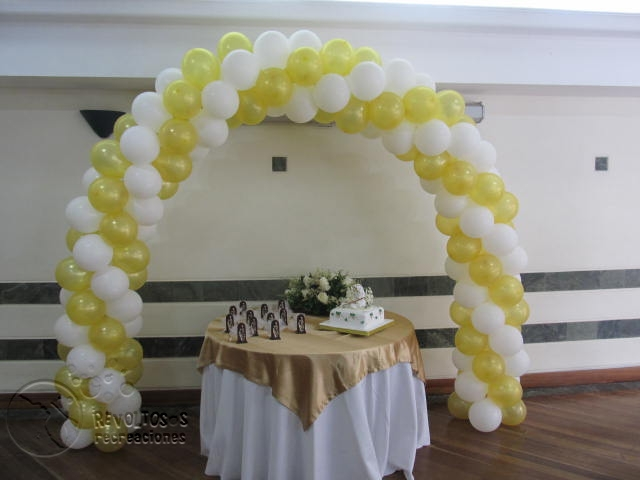 Decoracion primera comunion arco angeles recreacionistas - Decoracion fiesta comunion ...
