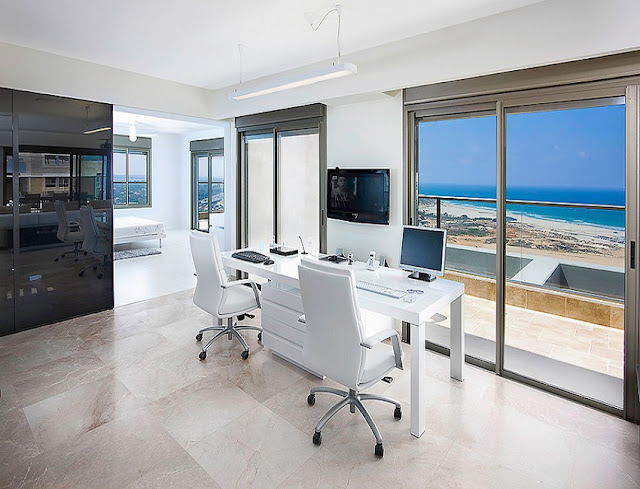 best buy modern white two desk home office design with white chairs sale