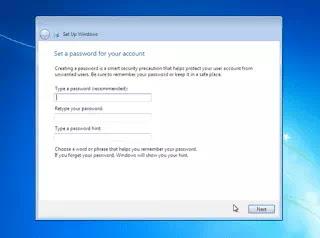 windows 7 me password kaise set kare