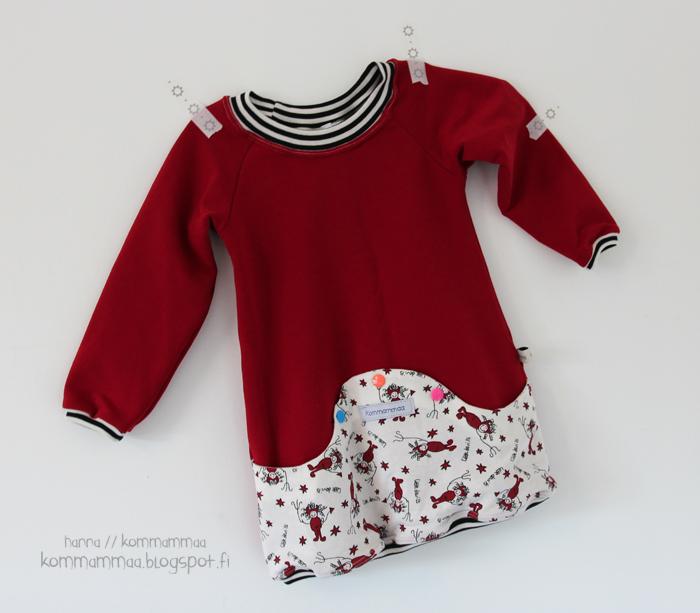 mekko tunika taskullinen kamnepit 86 heilt spesiell og jubel lilla kloverkjole