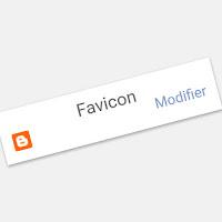 Favicon personnalisée