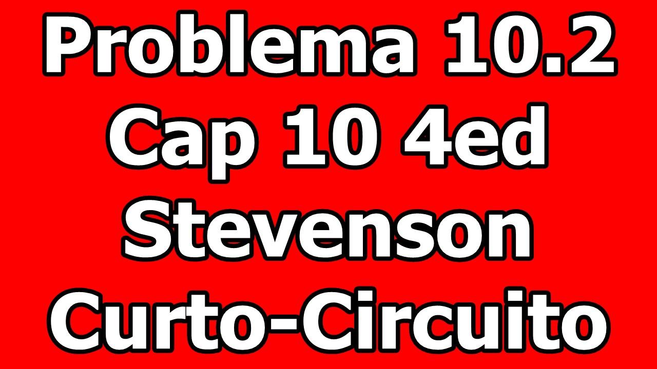 Circuito Jackson : Sep cálculo de falta problema stevenson ed curto circuito